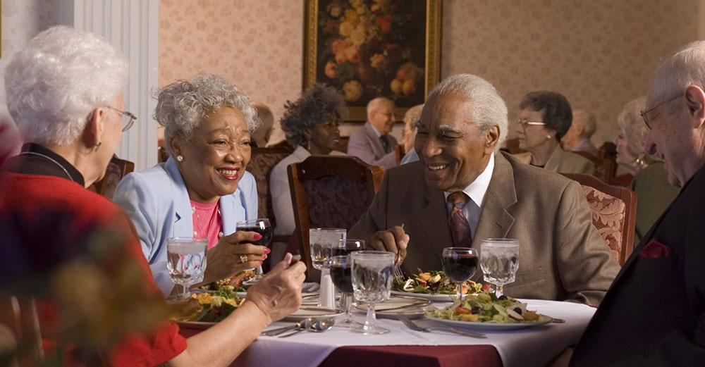 Dining Options at Retirement Communities